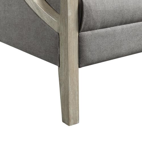 Gallery - Hopkins Accent Chair with White Wash Frame