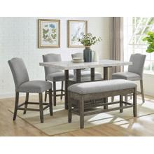 View Product - Grayson Dining Room Group: Includes Table, 4 Chairs & Bench