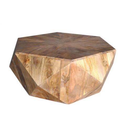 Pleasant Hill Hexagon Cocktail Table