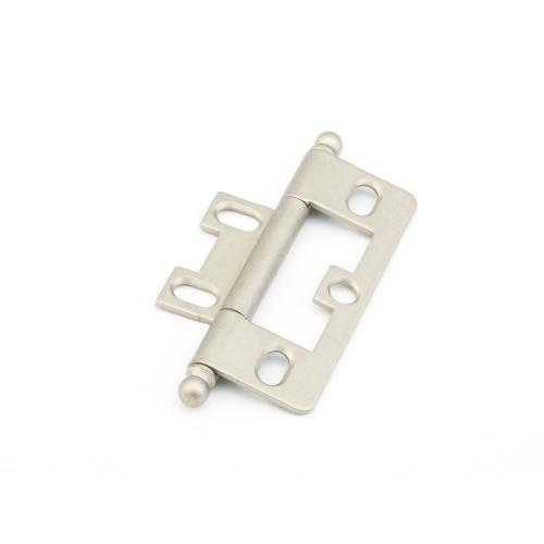 Solid Brass, Hinge, Ball Tip Non-Mortise, Distressed Nickel finish