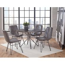 Derek 5 Piece Set (Table & 4 Side Chairs)