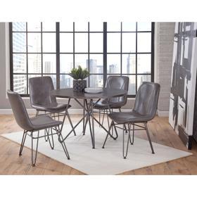 Derek 5 Piece Set (Table & 4 Side Chairs)