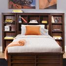 Twin Bookcase Headboard Product Image