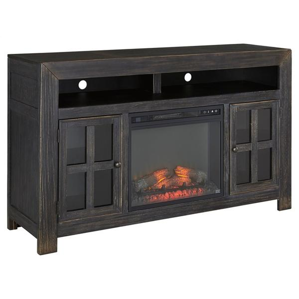 """Gavelston 60"""" TV Stand With Electric Fireplace"""