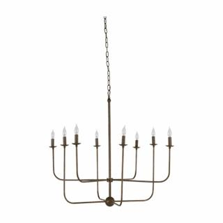 Lilly Chandelier-Brushed Copper