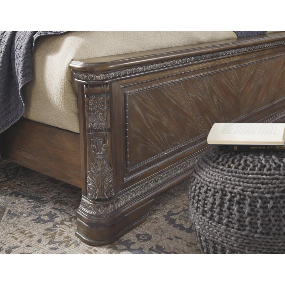 Charmond King Upholstered Sleigh Bed