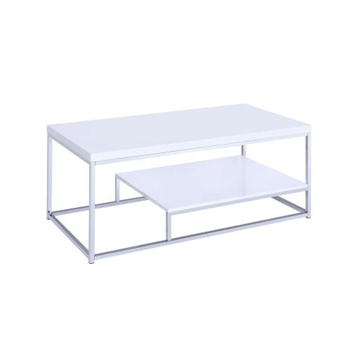 Lucia Cocktail Table, White