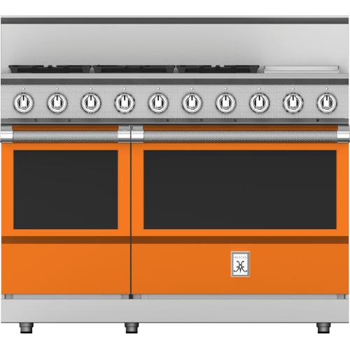 """Hestan - 48"""" 5-Burner All Gas Range with 12"""" Griddle - KRG Series - Citra"""