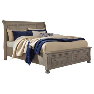 See Details - Lettner California King Sleigh Bed