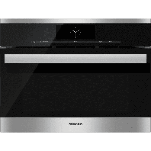 Steam oven with full-fledged oven function and XL cavity - the Miele all-rounder with water (plumbed) connection for discerning cooks.