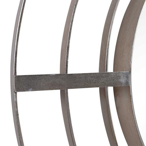 Bullseye Round Mirror