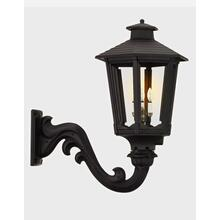 See Details - Cosmopolitan Gaslight With Wall Mount Bracket, Black