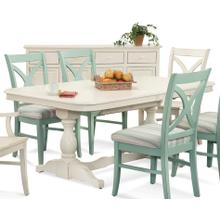 Hues Rectangular Trestle Dining Table
