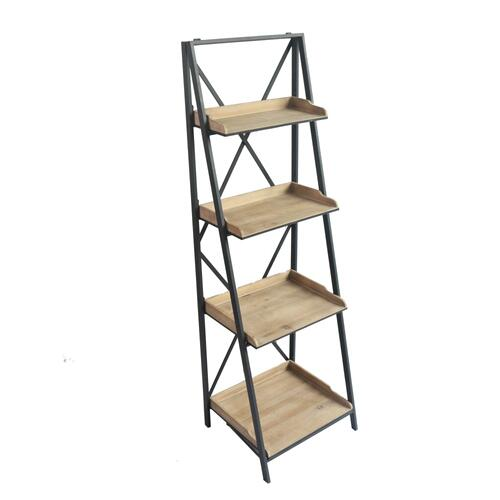 Emerald Home Fairmont Ac202-08 Foldable 4 Shelf