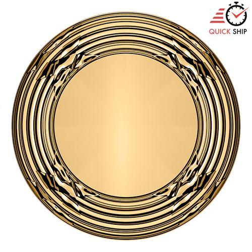 Baldwin - Non-Lacquered Brass 5013 Estate Knob with 5021 Rose