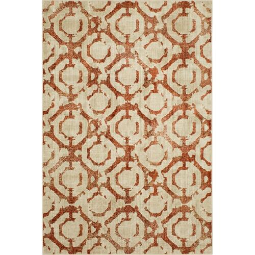 "Expressions Motif Ginger 2' 4""x7' 10"" Runner"