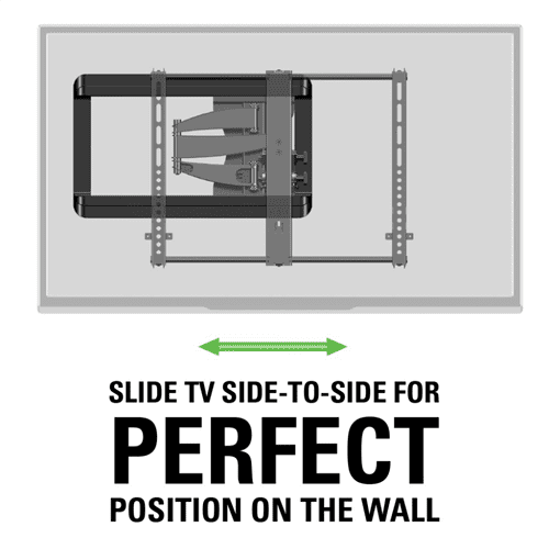 "Full Motion TV Wall Mount for 37""-55"" TVs"