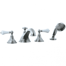 Asbury - 4pc Roman Tub Filler Trim - Polished Chrome