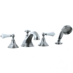 Asbury - 4pc Roman Tub Filler Trim - Brushed Nickel