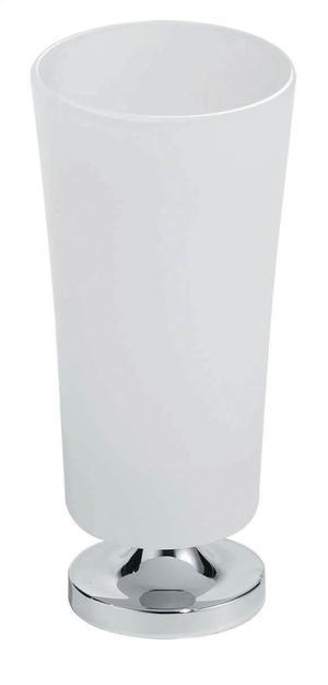 Silaro Free Standing Tumbler Brushed Nickel Product Image