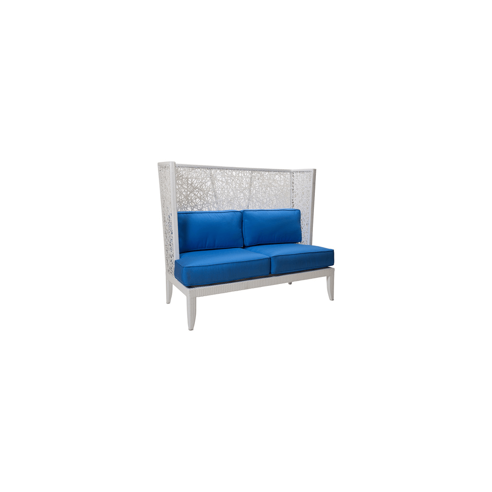 Mykonos High Back Loveseat