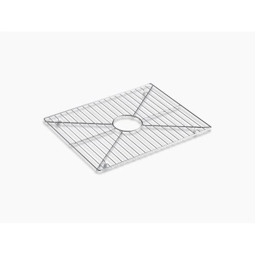 """Stainless Steel Stainless Steel Sink Rack, 19"""" X 15-1/16"""" for Stages 33"""" Kitchen Sink"""