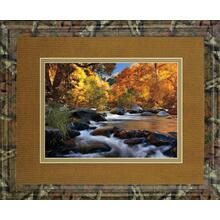 """River Of Gold"" By Mike Jones Framed Print Wall Art"