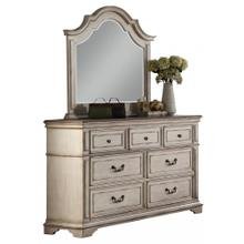 Anastasia Mirror Antique Bisque