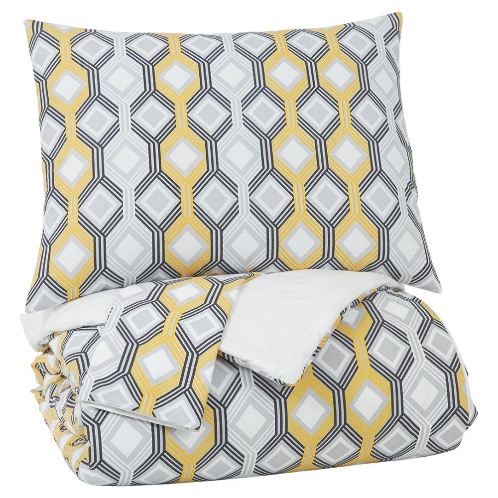 Mato 3-piece King Comforter Set