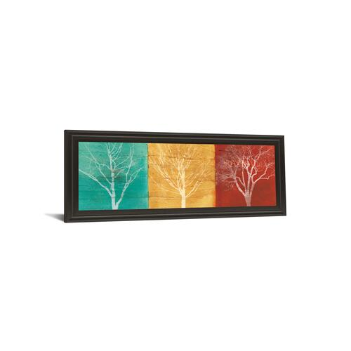 "Classy Art - ""Fallen Leaves"" By Stephane Fontaine Framed Print Wall Art"