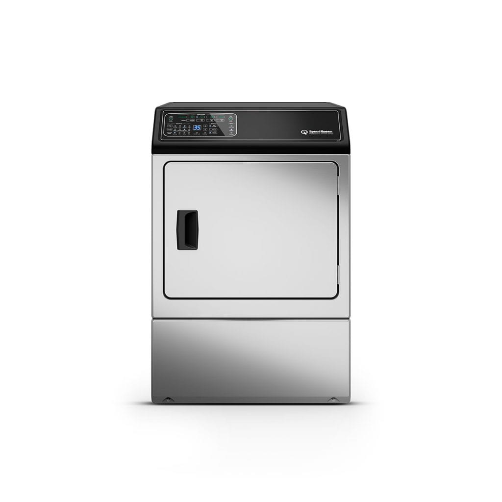 Speed QueenDf7 Stainless Steel Electric Dryer With Front Control  5-Year Warranty