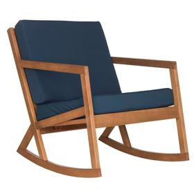 Vernon Rocking Chair - Natural / Navy
