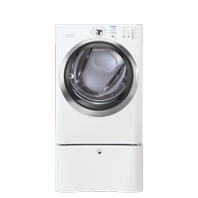 See Details - Front Load Gas Dryer with IQ-Touch Controls featuring Perfect Steam - 8.0 Cu. Ft.
