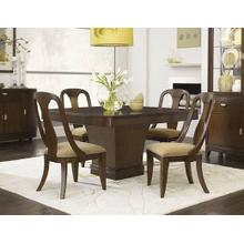Skyline Pedestal Dining Room & Sling Back Chair
