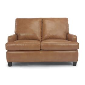 Foxtrot Leather Love Seat