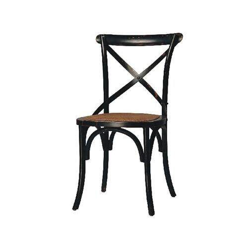 Gaston Dining Chair Antique Black