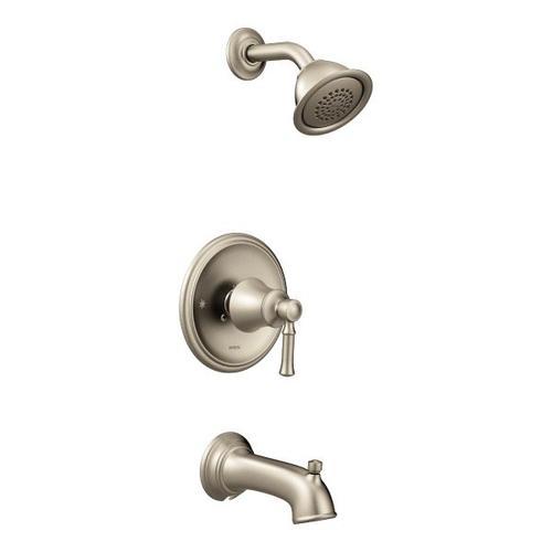 Dartmoor brushed nickel posi-temp® tub/shower
