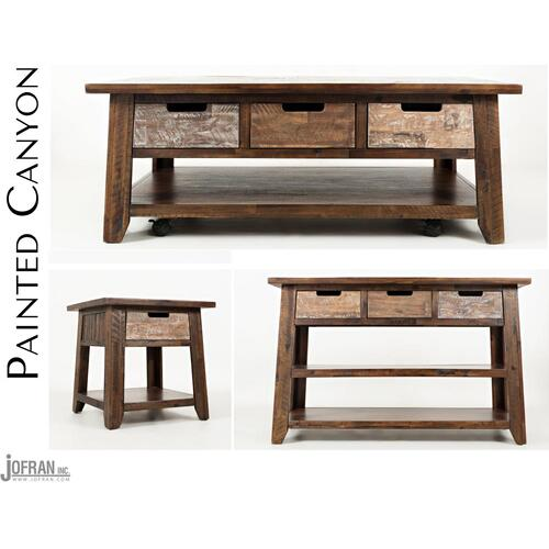 Painted Canyon Cocktail Table