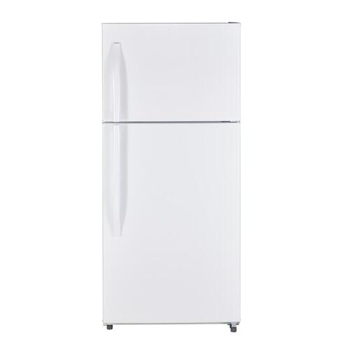 MTS18GTHRWW - White on White Moffat 18 Cu. Ft. Top-Freezer No-Frost Refrigerator