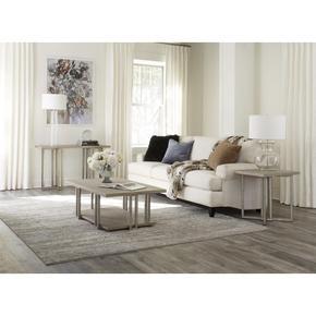 Adelyn - Sofa Table - Crema Gray Finish