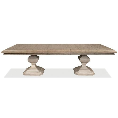 Elizabeth - Rectangular Dining Table Top - Antique Oak Finish