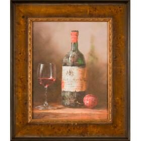 Wine and Fruit II 14x11