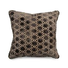 Toss Pillow with a Star Stone Pattern
