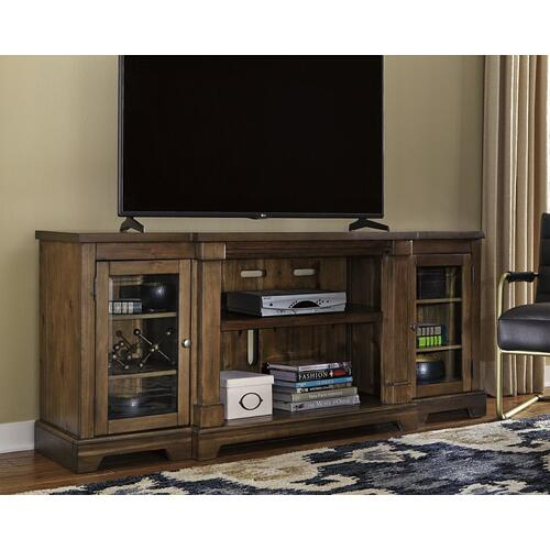 XL TV Stand w/Fireplace Option