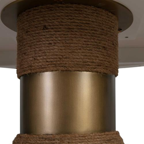 Tov Furniture - Rishi Natural Rope Round Table