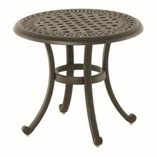 "21"" Round Tea Table in Cornerstone Finish"