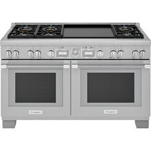 Dual Fuel Professional Range 60'' Pro Grand® Commercial Depth PRD606WEG