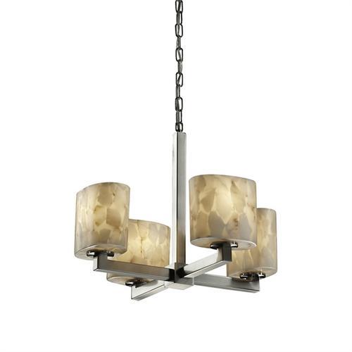 Modular 4-Light Chandelier
