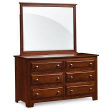 See Details - Homestead 6-Drawer Dresser, 58'w x 21 'd x 32 'h