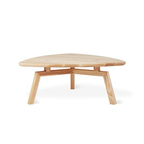 Solana Triangular Coffee Table New Walnut